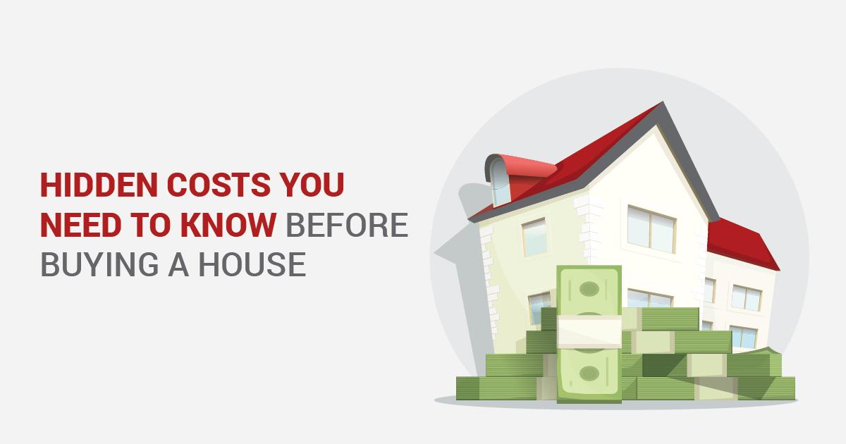 hidden costs buying house