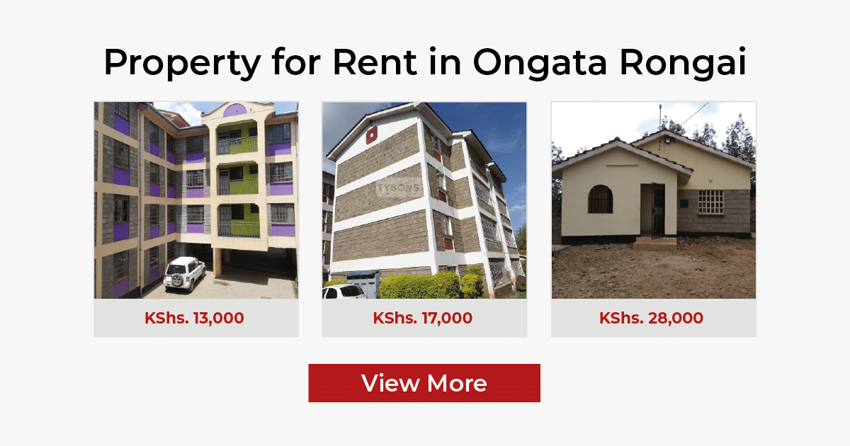 property prices in ongata rongai