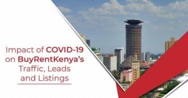 impact of COVID-19 on BuyRentKenya traffic