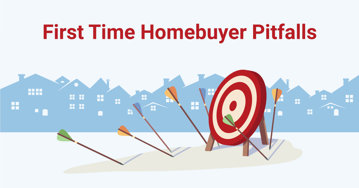 first time homebuyer mistakes