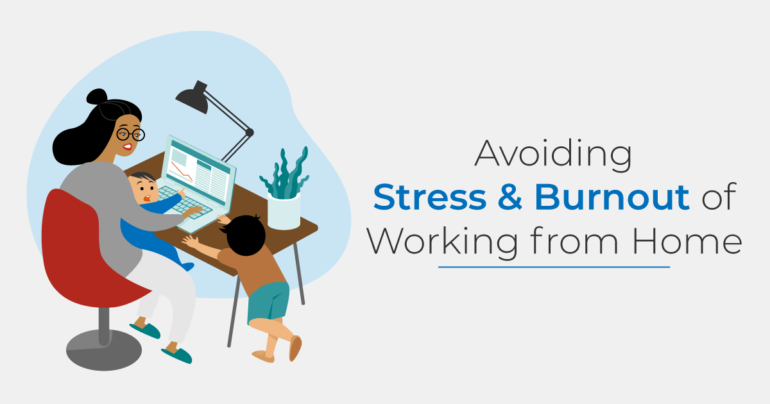 dealing with working from home stress